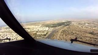 Muscat Oman  city images : Oman Air Landing at Muscat International Airport