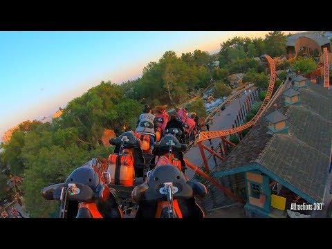 Pony Express Motobike Roller Coaster - Knott's Berry Farm