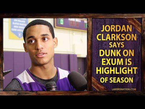 Video: Jordan Clarkson's AMAZING Dunk On Dante Exum, Calls It Highlight Of The Season