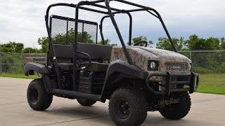 8. SALE $10,649:  2014 Kawasaki Mule 4010 Trans Camo Overview and Review