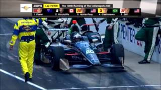 2016 Indianapolis 500 Broadcast Highlights