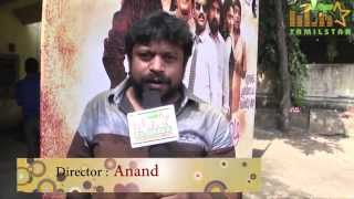 Director Anand at Anandha Mazhai Movie Audio Launch