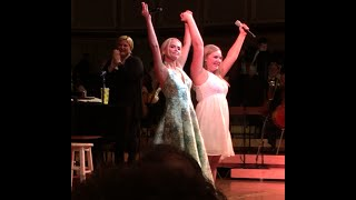 """Download Lagu Kristin Chenoweth sings duet """"For Good"""" with 16 year old Brittany and Chicago Symphony Orchestra Mp3"""