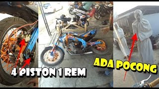 Video MEWAH 4 Piston Buat 1 Rem ! Review Spek Motor Stunt - Ketemu Pocong MP3, 3GP, MP4, WEBM, AVI, FLV Maret 2019
