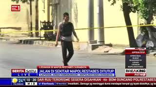 Video Halaman Mapolrestabes Surabaya Digaris Polisi Pasca-Ledakan MP3, 3GP, MP4, WEBM, AVI, FLV Agustus 2018