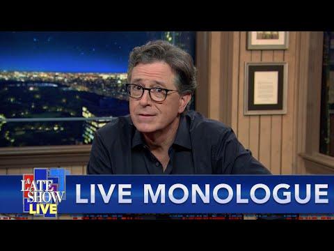 Stephen Colbert's LIVE Monologue After The First Trump-Biden Presidential Debate