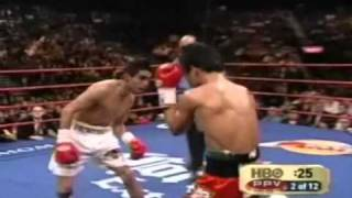 Video Erik Morales gives Manny Pacquiao a Boxing Lesson 1 of 3 MP3, 3GP, MP4, WEBM, AVI, FLV Mei 2019