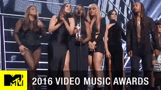 Fifth Harmony Wins Best Collaboration Video   2016 Video Music Awards   MTV