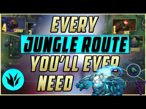 EVERY Jungle Route You Need To Climb In 11 Minutes! | League of Legends Season 11