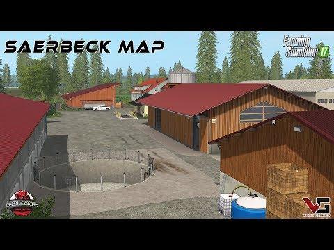 Saerbeck Farming simulator 17 v1.0