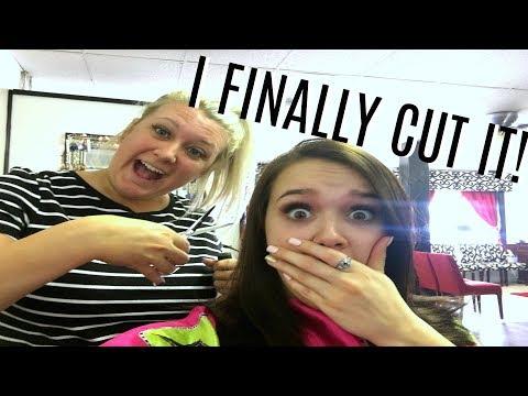 Hair cutting - I CUT MY HAIR SHORT
