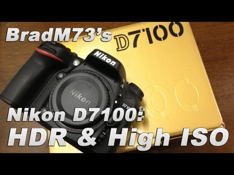 Nikon D7100 HDR and High ISO Low Light Noise Review