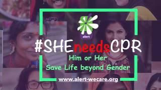 I Support #SHEneedsCPR MADHUVANTHI