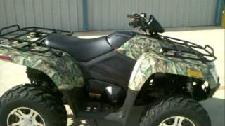 4. Review: 2012 Arctic Cat 550I GT in Advantage Timber Camo!