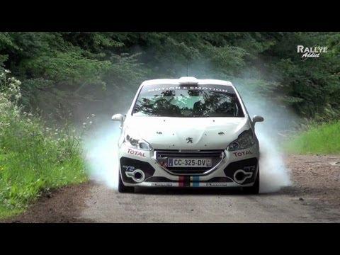 Peugeot 208 R2 Tests Days [HD] Rallye-Addict.com