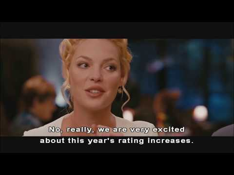 The Ugly Truth vibrating underwear restaurant scene (funny scene!)