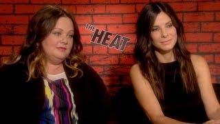 "Sandra Bullock and Melissa McCarthy Enjoy ""Not Behaving"" in The Heat"