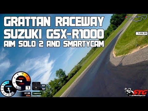 2018 Suzuki GSX-R1000 at Grattan Raceway | Sportbike Track Gear