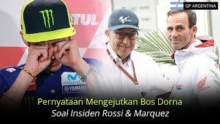 Video Pernyataan Mengejutkan Bos Dorna Soal Insiden Rossi Dan Marquez Di Argentina MP3, 3GP, MP4, WEBM, AVI, FLV April 2018
