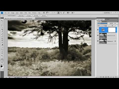 How to process infrared digital images in Photoshop- Week 67