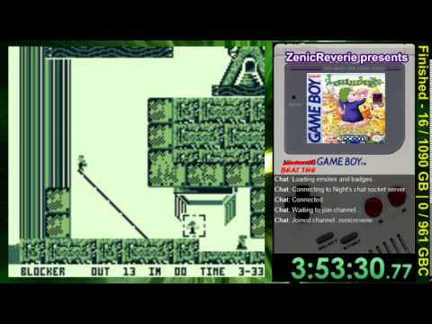 lemmings game boy advance rom