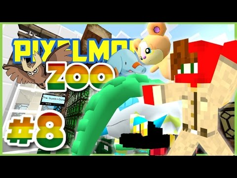 Pixelmon Zoo ► Minecraft Pixelmon 4.0.7 Roleplay Episode 8 ► THE QUADRI-DOME!