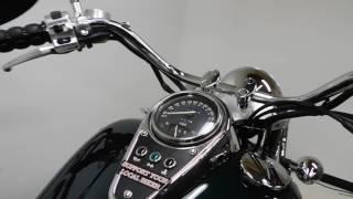 7. 2004 Kawasaki Vulcan 1500 Classic VN1500C Green - used motorcycle for sale - Eden Prairie, MN
