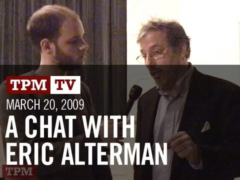TPMtv: A Chat with Eric Alterman