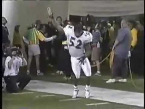 Ray Lewis Pre-Game Dance