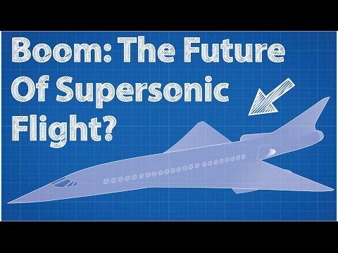Boom: Die Zukunft der Überschallflüge?