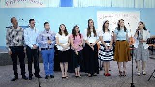 Tinerii de la Scoala de Misiune din Constanta