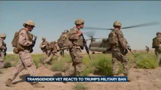Transgender service members have been able to serve openly in the military since last year. For veteran Darla Lannert, who ...