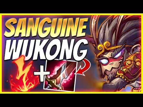 IS SANGUINE BLADE GOOD ON WUKONG?? | SEASON 10 WUKONG BUILD - League of Legends