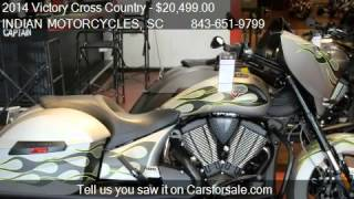 5. 2014 Victory Cross Country FACTORY CUSTOM for sale in Murrel