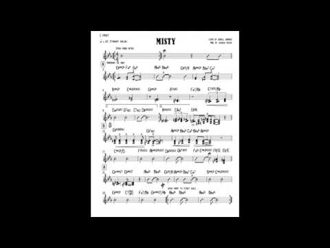 Misty Live And Pdf Arrangement Joshua Peeks Music