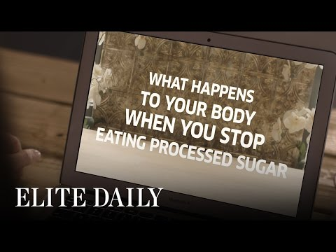 What Happens To Your Body When You Stop Eating Processed Sugar [Body & Mind]