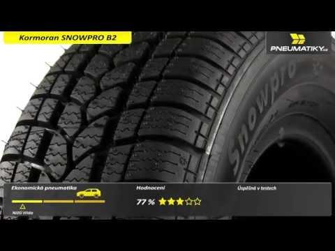 Youtube Kormoran SNOWPRO B2 155/70 R13 75 Q Zimní