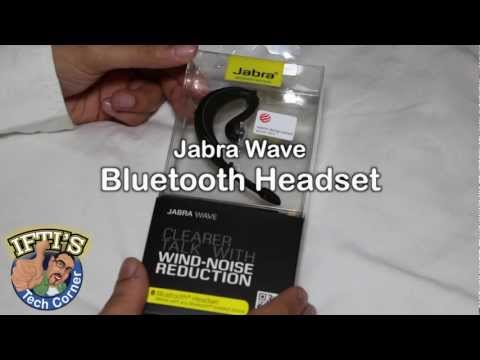 Jabra Wave Bluetooth Headset - Unboxing & Review