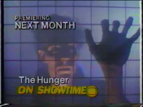 The Hunger  - Commercial Trailer  - Showtime 30 Second Spot (1984?)