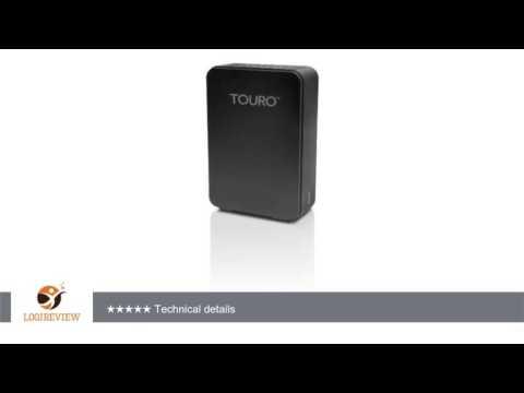 HGST Touro Desk HTOLDX3NB20001ABB 2TB USB 3.0 Desktop External Hard Drive (Black) | Review/Test
