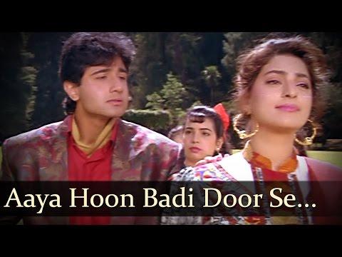 Video Aaya Hoon Badi Door Se - Juhi Chawla - Vivek Mushran - Bewafa Se Wafa - Bollywood Songs download in MP3, 3GP, MP4, WEBM, AVI, FLV January 2017
