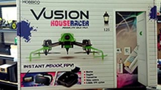 Video Thumbnail Drone Indoor FPV Racing RISE Vusion House Racer Challenge