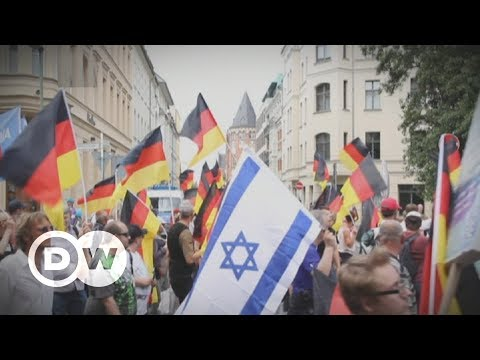 "THE WORM HAS TURNED! Jews in Germany join forces with the so-called ""far-right"" anti-Islamization party."