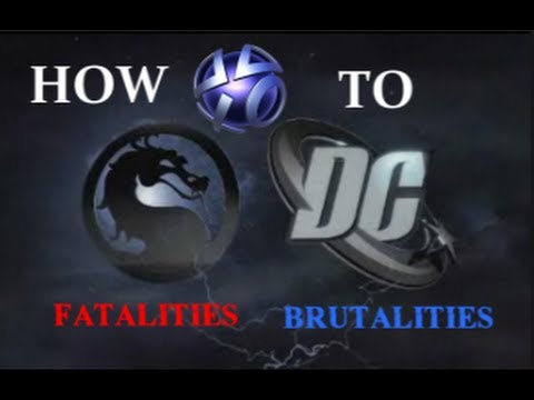 fatalities mortal kombat vs dc universe playstation 3 español