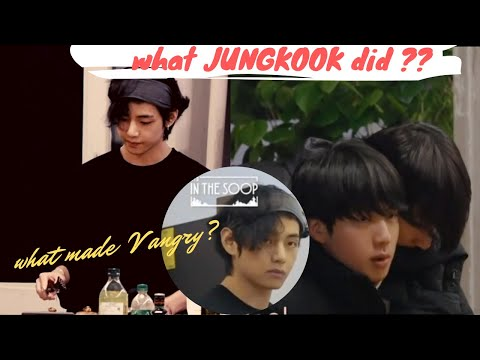 What made V angry? Jungkook's Hidden Taekook signs💜 Detailed analysis 🌴.