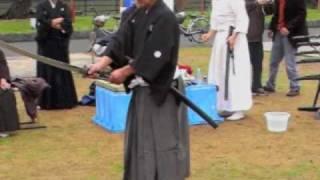Video Katana edge cutting competition in Shibata, Japan , video MP3, 3GP, MP4, WEBM, AVI, FLV Agustus 2018
