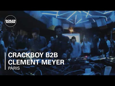Paris - FOR AUDIO: http://bit.ly/N3Fax4 → SUBSCRIBE TO BOILER ROOM: *http://bit.ly/1bkrHWL* Crackboy and Clement Meyer bring heat to Boiler Room Paris → FOLLOW US ...