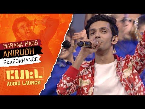 9:35 Anirudh Ravichander's Performance - MARANA MASS | PETTA Audio Launch