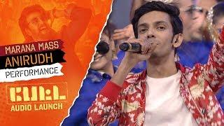 Video Anirudh Ravichander's Performance - MARANA MASS | PETTA Audio Launch MP3, 3GP, MP4, WEBM, AVI, FLV Januari 2019