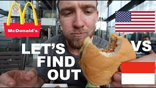 Video is MCDONALD'S in INDONESIA the same as AMERICA? MP3, 3GP, MP4, WEBM, AVI, FLV Maret 2019